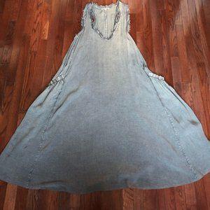 Indigo Thread Maxi Tank Dress
